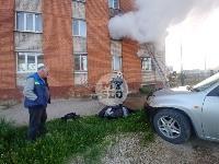 Пожар в общежитии на ул. Фучика, Фото: 10