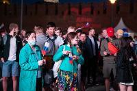 Как туляки поддерживали сборную России в матче с Бельгией, Фото: 27