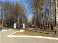 Субботник в Комсомольском парке с Владимиром Груздевым, 11.04.2014, Фото: 6