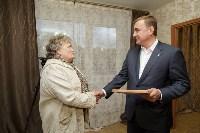 Алексей Дюмин посетил дом в Ясногорске, восстановленный после взрыва, Фото: 36