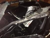 В Ясногорском районе иномарка влетела под фуру, Фото: 5