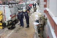 Пожарные ликвидировали условное возгорание в здании тульской ЕДДС, Фото: 13