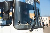Как в Туле дезинфицируют маршрутки и автобусы, Фото: 10