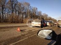 На автодороге «Тула — Новомосковск» столкнулись пять машин, Фото: 6