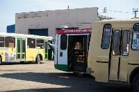 Как в Туле дезинфицируют маршрутки и автобусы, Фото: 21