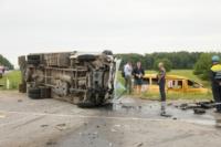 Авария на трассе Тула-Калуга. 04.07.2014, Фото: 18
