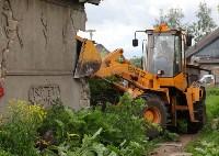 В Плеханово продолжается снос незаконных цыганских построек, Фото: 62