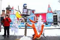 Арт-объекты на площади Ленина, 5.01.2015, Фото: 8