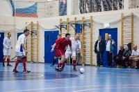 Мэр Тулы Юрий Цкипури и команда ветеранов «Фаворит» сыграли в футбол с волонтерами, Фото: 22