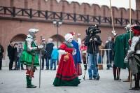 Средневековые маневры в Тульском кремле. 24 октября 2015, Фото: 66