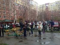 Субботник во дворе дома №19 по ул. Кирова, Фото: 5