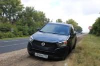 Возле поста ДПС в Плавске столкнулись три иномарки и фура, Фото: 15