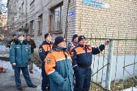У дома, поврежденного взрывом в Ясногорске, демонтировали опасный угол стены, Фото: 55