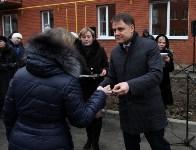 Губернатор Владимир Груздев вручил ключи от квартир новоселам в Узловском районе, Фото: 8