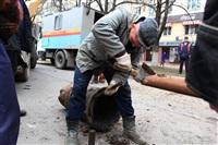Прорыв водовода на пр. Ленина, Фото: 11