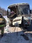 В Тульской области в ДТП с автобусом и маршруткой пострадали несколько человек, Фото: 4