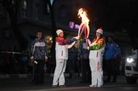 Третий этап эстафеты олимпийского огня: проспект Ленина, Фото: 63