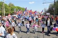 Тульская Федерация профсоюзов провела митинг и первомайское шествие. 1.05.2014, Фото: 54