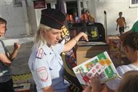 Тульские байкеры и сотрудники ГИБДД навестили детей из обидимской школы-интерната, Фото: 5