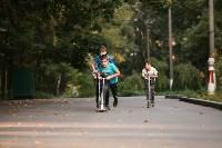 Туляки «погоняли» на самокатах в Центральном парке, Фото: 27
