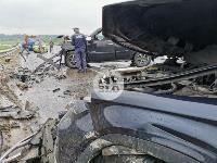 В серьезном ДТП на М-2 в Туле пострадали три человека, Фото: 11
