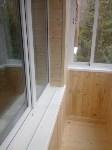 Новый балкон и тёплые окна осенью, Фото: 12