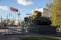 В Туле открыли памятник экипажу танка Т-34, Фото: 54