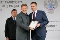 В Суворовском районе  введен в эксплуатацию участок автодороги «Калуга-Перемышль-Белёв-Орёл», Фото: 48