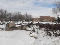 В Туле расчищают территорию для строительства моста через Упу, Фото: 1