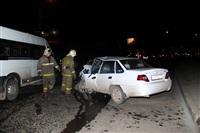 На ул. Металлургов в Туле лоб в лоб столкнулись две Daewoo, Фото: 3