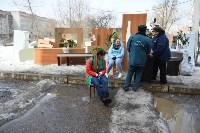 У дома, поврежденного взрывом в Ясногорске, демонтировали опасный угол стены, Фото: 4