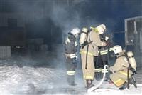 Пожар на складе ОАО «Тулабумпром». 30 января 2014, Фото: 21