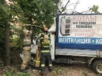 Спасатели ликвидируют последствия непогоды в Туле, Фото: 10