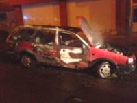 Возгорание автомобилей в Тульской области в ночь на 28 сентября, Фото: 1