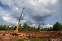 Строительство перинатального центра в Туле. 14.05.19, Фото: 23