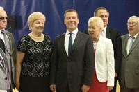 Медведев в Алексине, Фото: 22