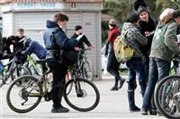 По центральным улицам Тулы прошел велопробег, Фото: 29
