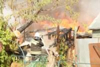 На улице Патронной загорелся частный дом, Фото: 5