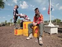 Юные мотоциклисты соревновались в мотокроссе в Новомосковске, Фото: 77