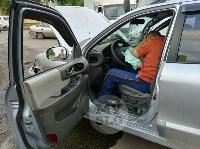 Двойная авария в Пролетарском районе Тулы, Фото: 5