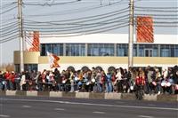 Второй этап эстафеты олимпийского огня: Зареченский район, Фото: 12