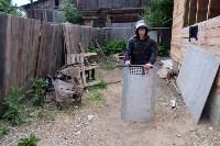 В Плеханово начали сносить дома в цыганском таборе, Фото: 30