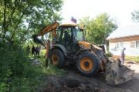На Косой Горе ликвидируют незаконные врезки в газопровод, Фото: 24