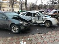 В центре Тулы сбили троих пешеходов, Фото: 6