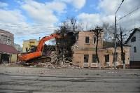 Снос аварийного дома на улице Октябрьской, Фото: 21