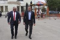 В Ясногорске Алексей Дюмин поручил привести в порядок городской парк, Фото: 22