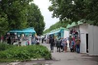 Мини-бунт перед сносом торговых павильонов на Фрунзе. 23.06.2015, Фото: 1