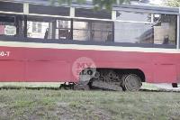 Авария с трамваем на ул. Металлургов, Фото: 10