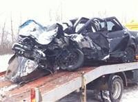 На автодороге Тула-Белев произошло два серьезных ДТП, Фото: 1