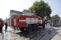 """На ул.9 Мая сгорел рынок """"Салют"""", Фото: 8"""